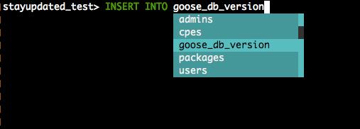 Pgcli—自动完成和语法高亮的Postgres命令行工具