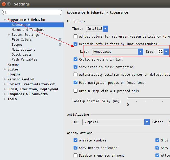 bstorm PhpStorm创建桌面快捷启动和菜单文字变粗解决