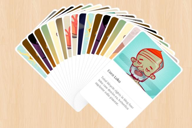 Baraja演示15种不同的洗牌特效